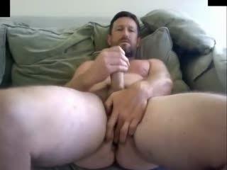 Bearded Daddy Cumshot- Watch Part 2 On GayBoysCam.com