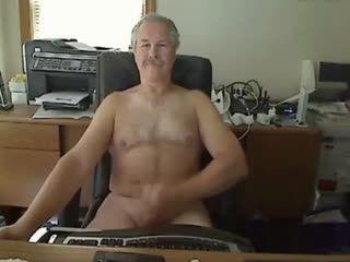 Hot Grandpa Cums- Watch Part 2 On GayBoysCam.com