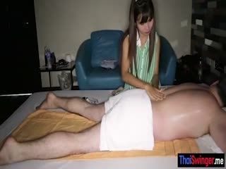Thai Massage Then Handjob And Blowjob Session POV Style