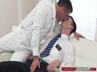 Gay Teen Mormon Gets Ass Railed