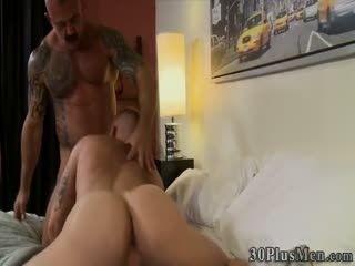 Muscly Jock Pounds Hunks Ass