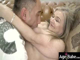Mugur Passionately Kissed And Licked Granny Betsy's Vintage Twat