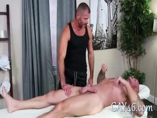 Innocent Massage Turned Into Hard Sex Between Two Strong Buddies