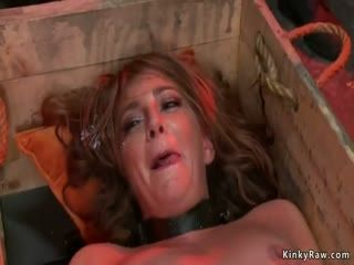 Brunette Sub In Rough Anal Public Fucked