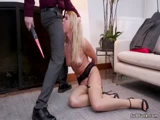 Rough Bf Bangs Gf And Her Stepmother