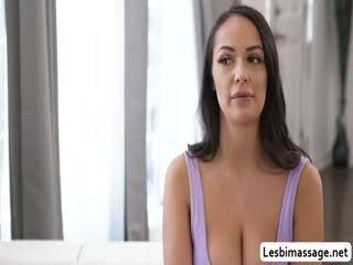 Georgia Jones And Sofi Ryan Lick Each Others Wet Pussies