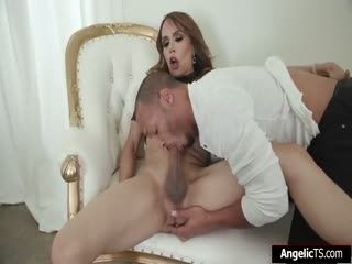 Big Tits Ts Sofia Sanders Gets Barebacked