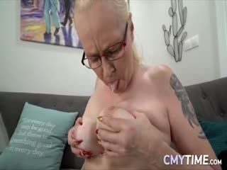 Cmytime GrannyCreampie Violett Rob