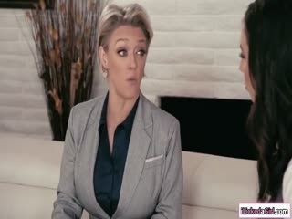Secretary Facesitted By Lesbian Boss
