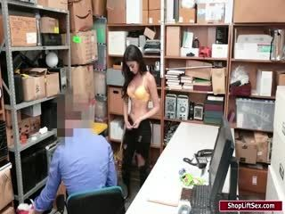 Officer Fucks Thief After Stripsearch