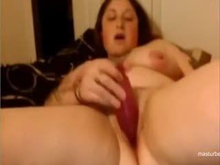 Bbw Tattoo Mom Janet Fucks Her Own Pussy