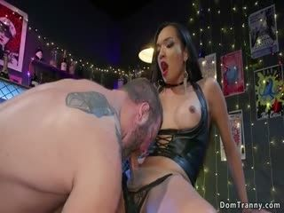 TS Bar Owner Anal Bangs Muscled Man