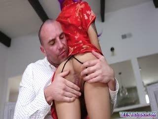 Tiny Asian Babe Avery Black Loves Huge Cock