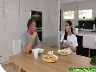 Stepdad Gives Gianna Dior The Dick She Wants And Eats Her Pussy