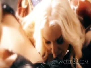 The Wicked Parody Xxx Scene Of Captain Marvel Featuring Kenzie Taylor And Aubrey Kate