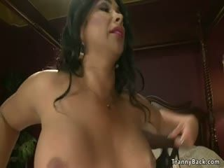 Big Boobs Tanned Shemale Fucks Alt Guy