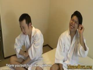 Japanese Twink Gets Butthole Fingered