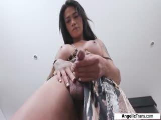 TS Candy Brendys Has A Solo Masturbation
