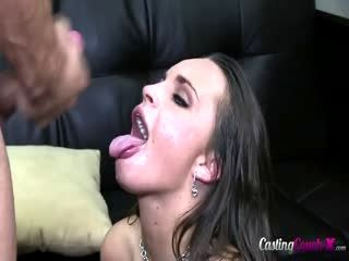 Hot Slut Sucks And Jacks Off Cock For Cum