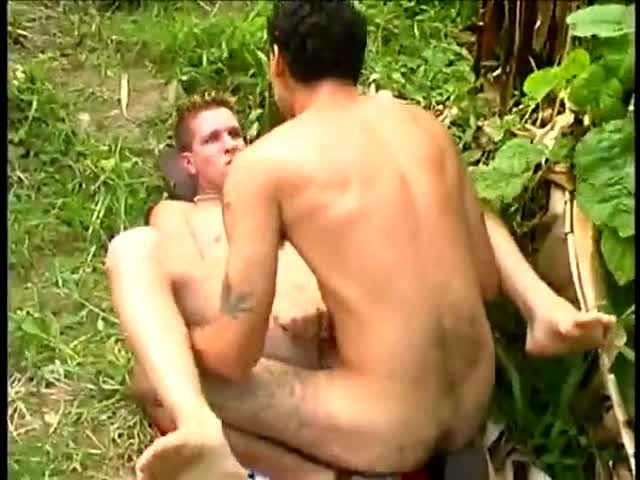 knight gets his dick sucked in the woods