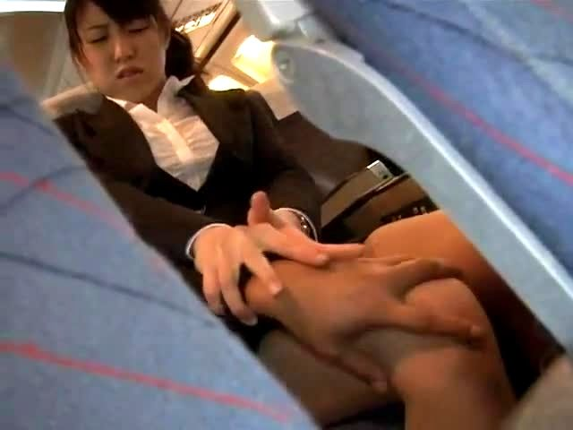 girls having sex on a plane