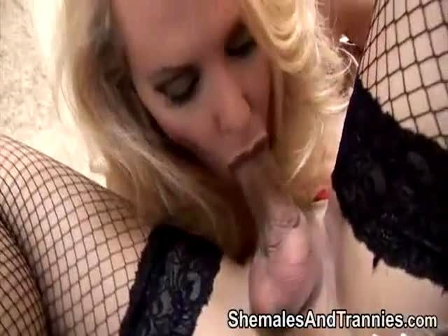 tranny is tickled