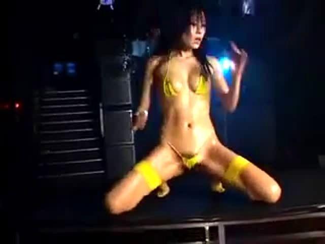 Micro Bikini Oily Dance Video 88