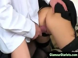 Naughty Posh Slut Gets A Cumshot